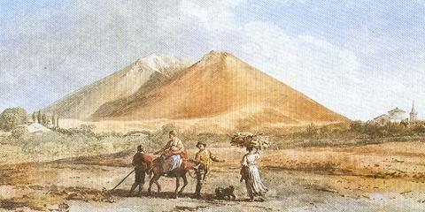 Da Nicolosi, porta dell'Etna, comincia la salita ai Monti Rossi.