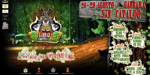 CAMPfest Gabbara a San Cataldo in provincia di Caltanissetta