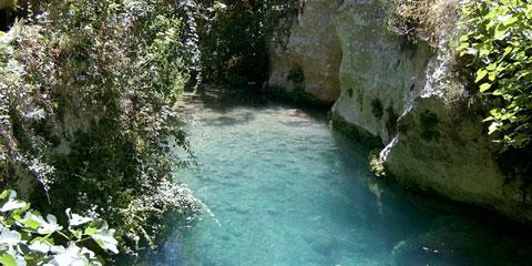 Risalita del Torrente Calcinara nella riserva di Pantalica