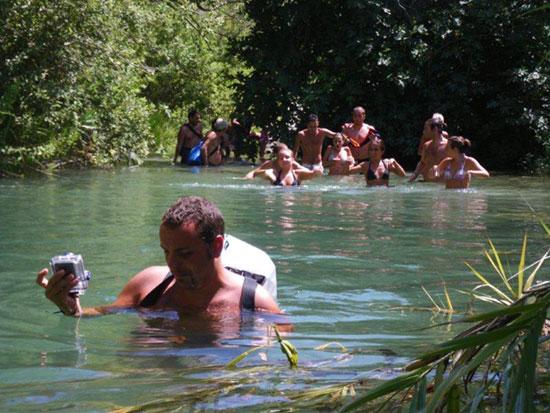 Il torrente Calcinara