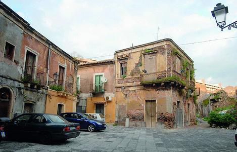 Quartiere storico di San Berillo a Catania