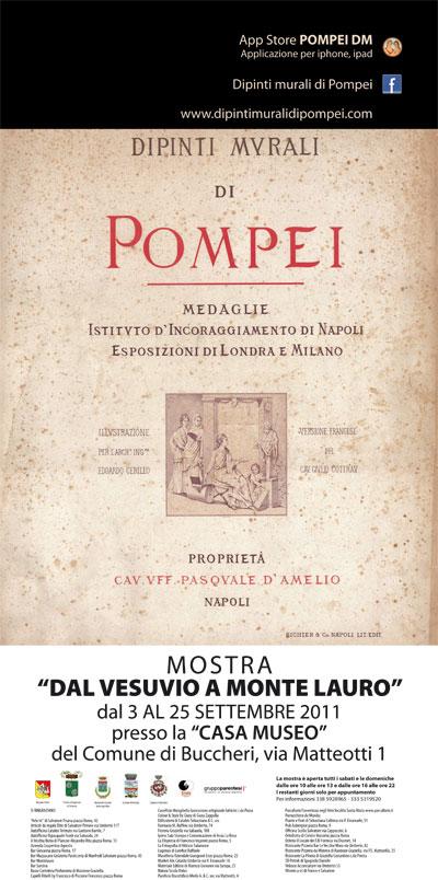 ... quella dell'affascinante e celebre Pompei alle pendici del Vesuvio