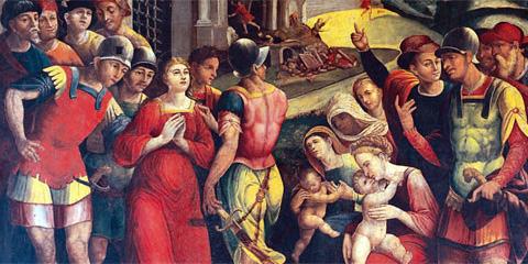 I luoghi di culto della festa di Sant'agata