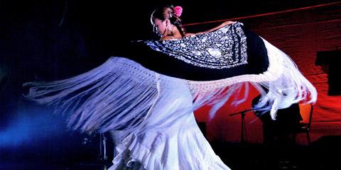 Noche Flamenca con la bailaora dei films di Carlos Saura Cristina Benitez