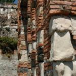 Abbazia dei Santi Pietro e Paolo d'Agrò - particolare parete perimetrale