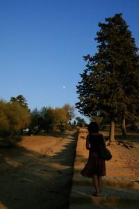 passeggiata Valle dei Templi Agrigento - agosto 2012