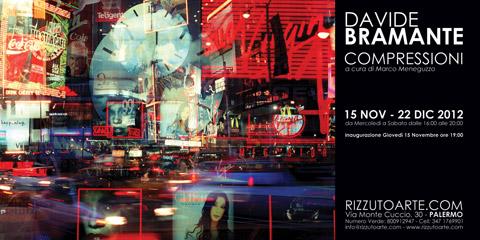 """Le fotografie """"compresse"""" di Davide Bramante in mostra a Palermo."""