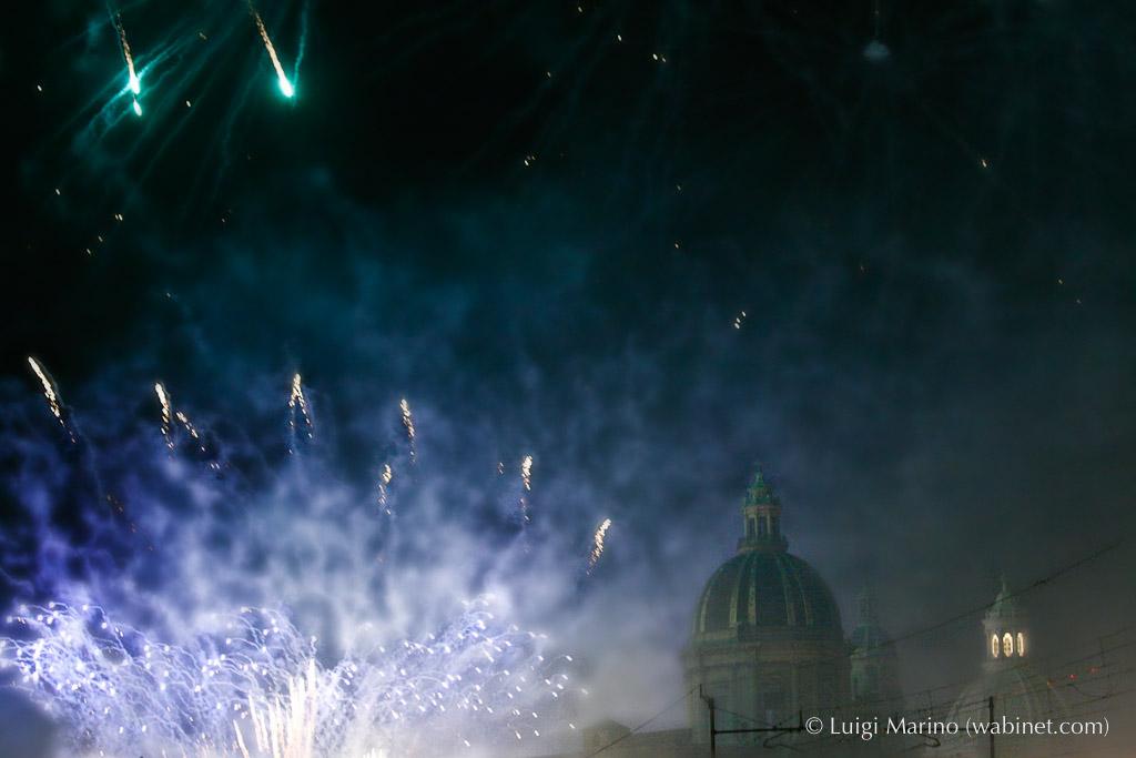 Inizia il 3 febbraio la festa di Sant'Agata. La carrozza del senato, l'offerta della cera e lo spettacolo di fuochi.
