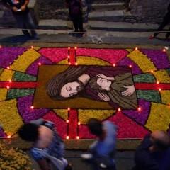 Montalbano Elicona: Infiorata di Braidi per la festa del Corpus Domini