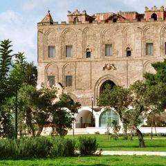 I giardini della Zisa a Palermo.