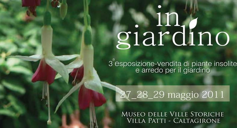 In Giardino. Mostra-mercato di piante insolite e arredo per il giardino a Caltagirone