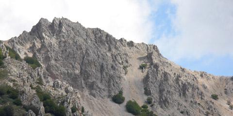 Escursione tra le dolomiti di Piano Battaglia nel Parco delle Madonie.