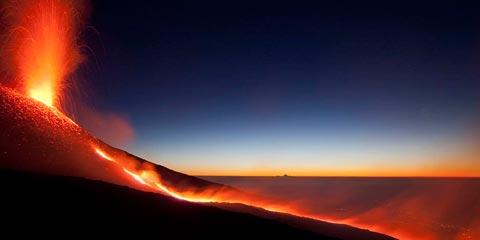Una mostra fotografica dedicata all'Etna.